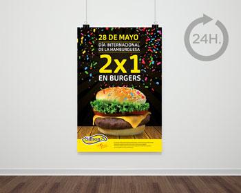 impresión carteles publicitarios